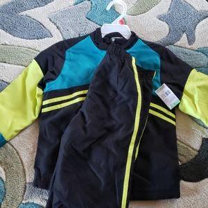 Toddler boy's jogging suit